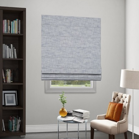 Wendy Bellissimo Home Motorized Classic Roman Fabric Shade