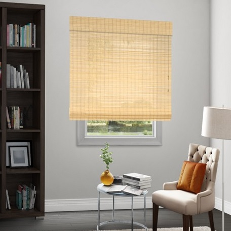 Sale natural woven flat fold shades for Natural woven flat fold shades