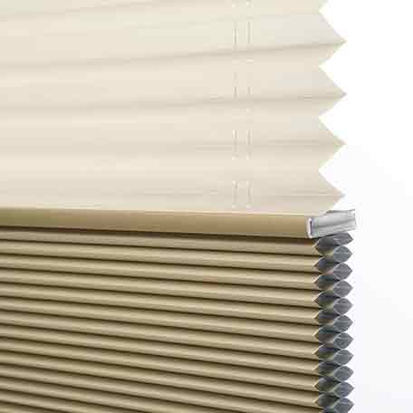 Classic Twin Cell Blackout Dualview Honeycomb Shade
