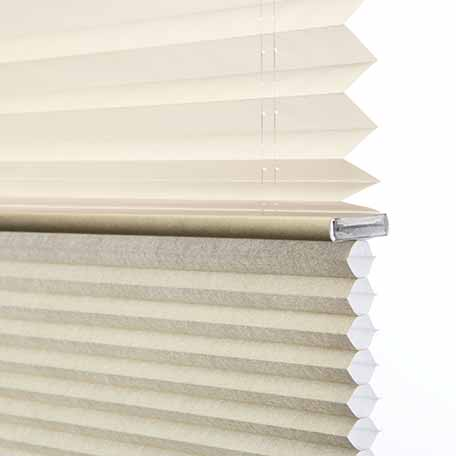Dualview Petite Cell Cordless Honeycomb Shades