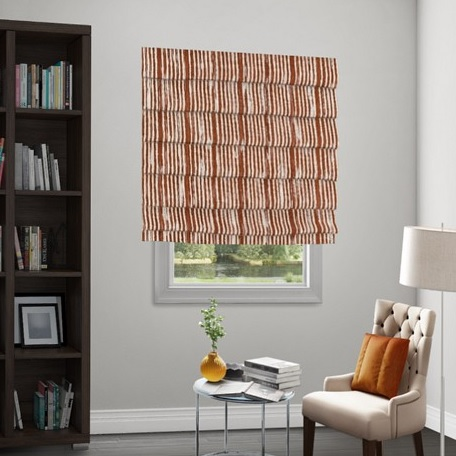 Wendy Bellissimo Home Soft Roman Fabric Shade